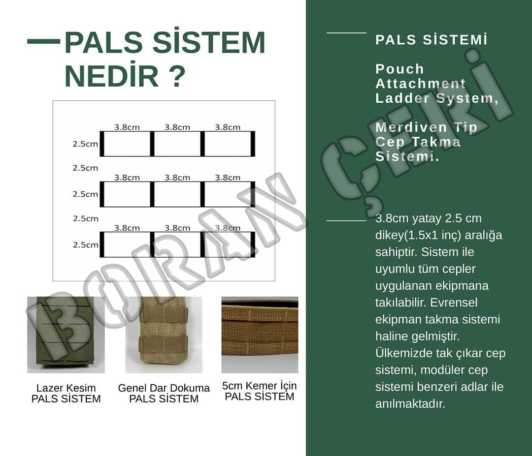 pals sistem molle sistem